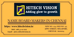 Name Board Makers in Chennai